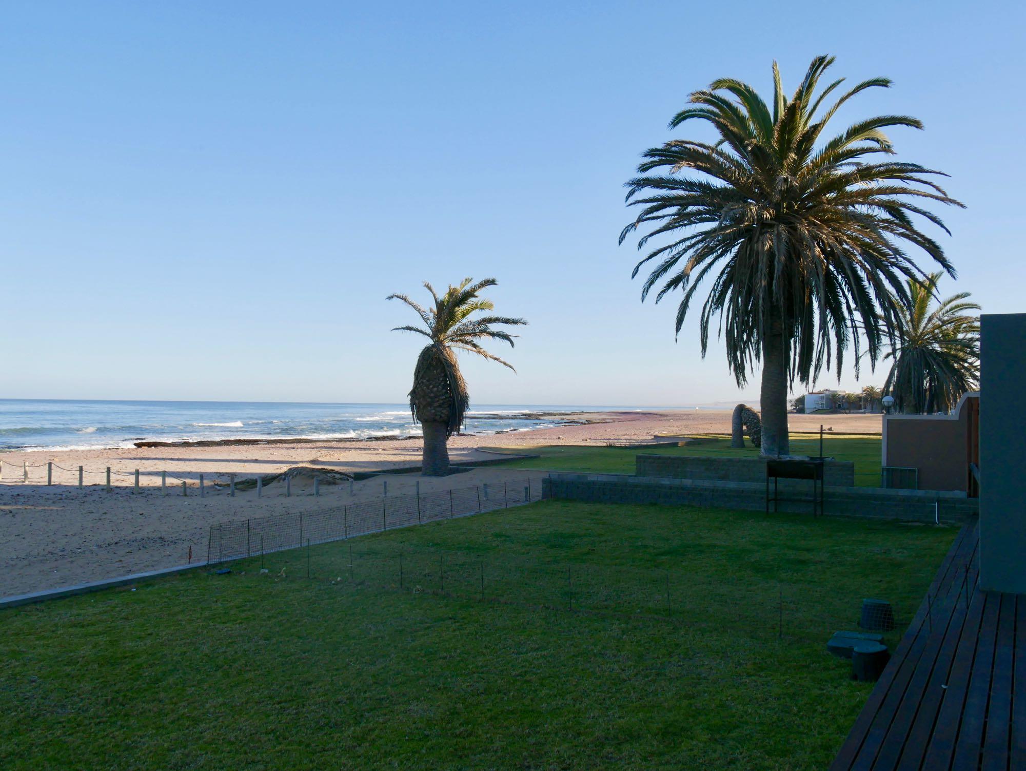 Vue depuis la villa Oceana View