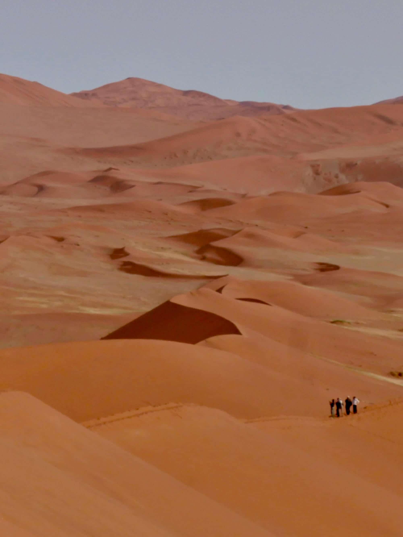 Les dunes du désert Namib