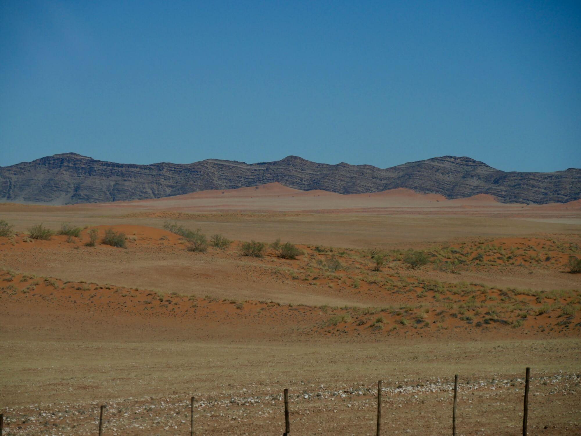 Paysage de Namibie