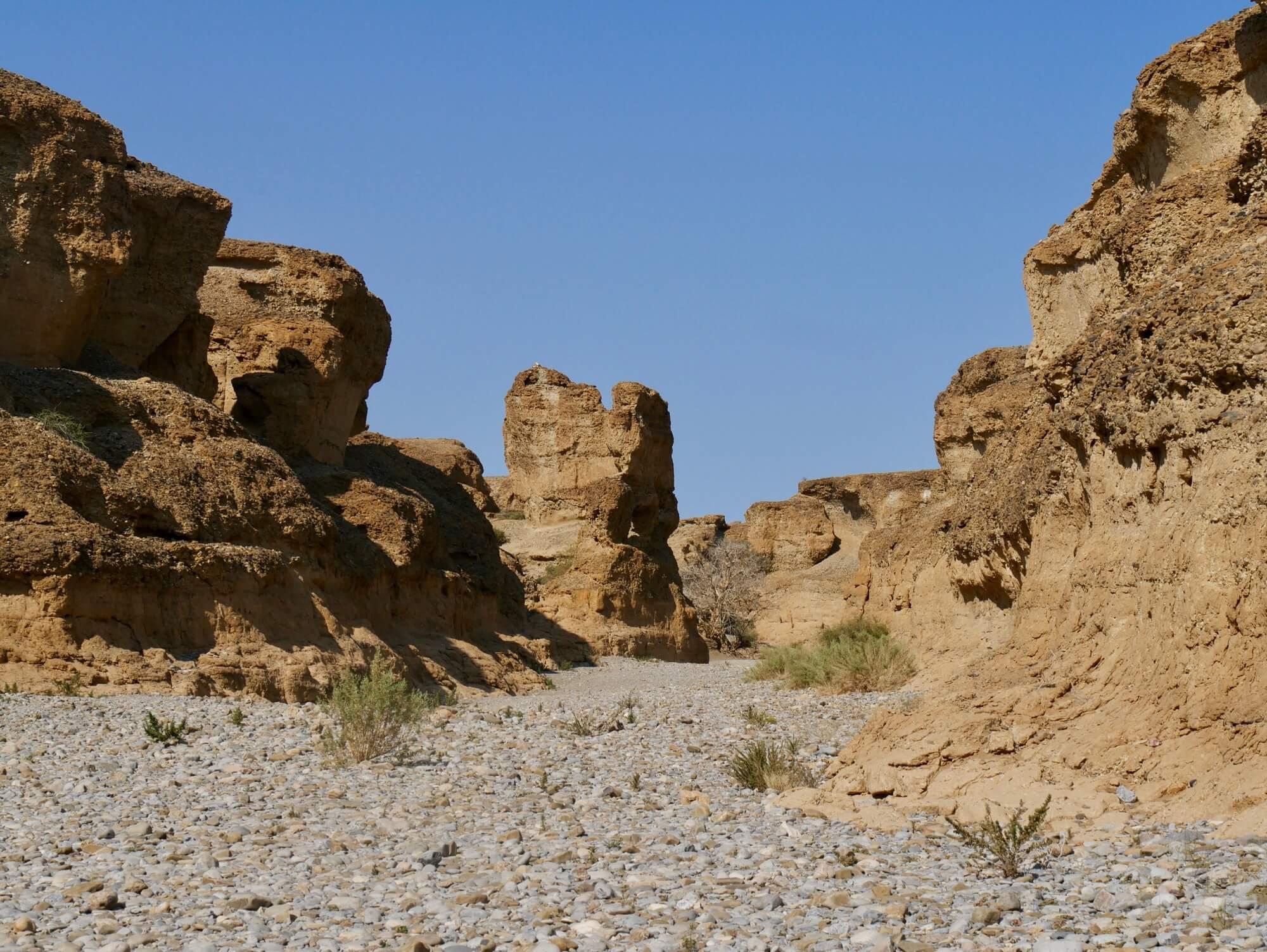 Paysage de Sesriem canyon