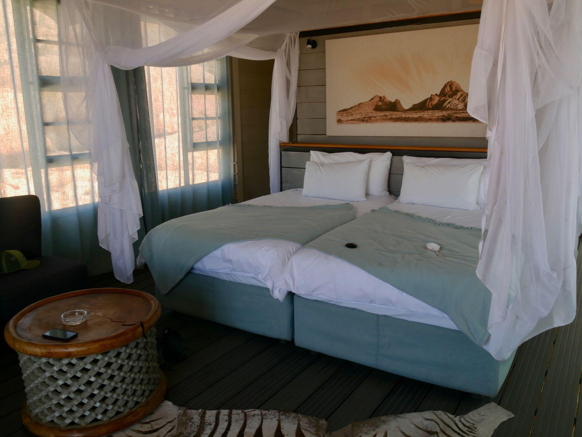 Les chambres du Spitzkoppen Lodge