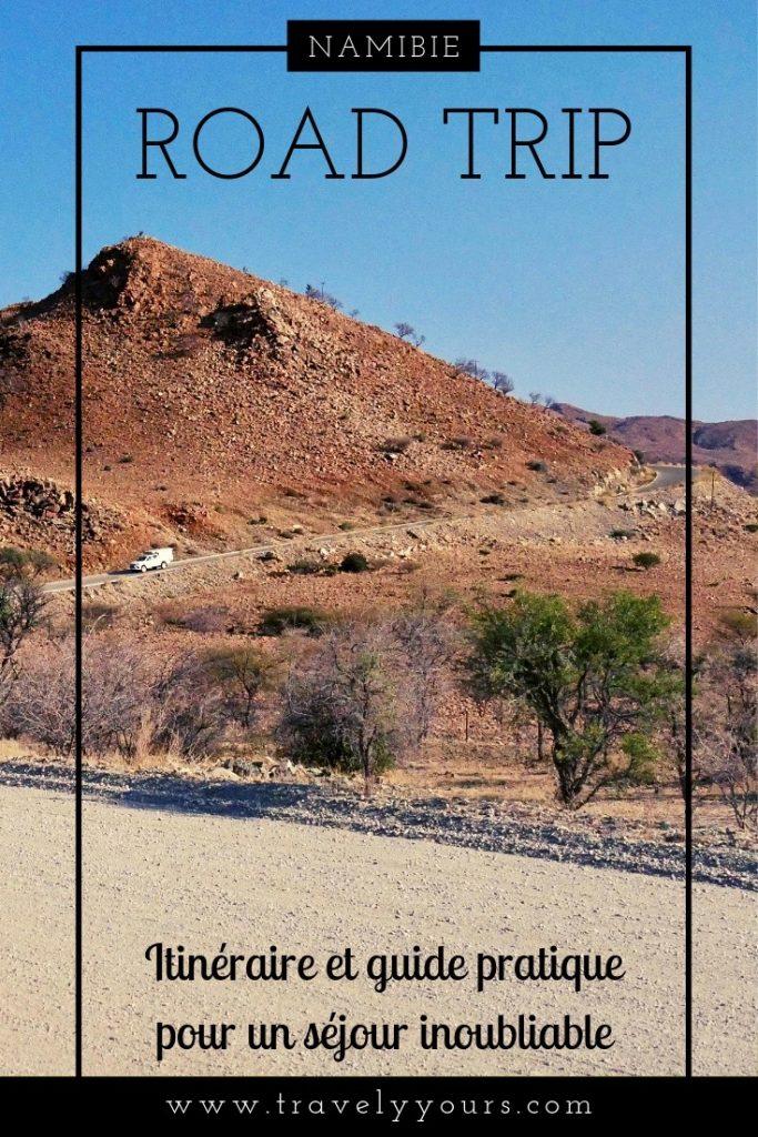 Epingle Pinterest Itinéraire Namibie