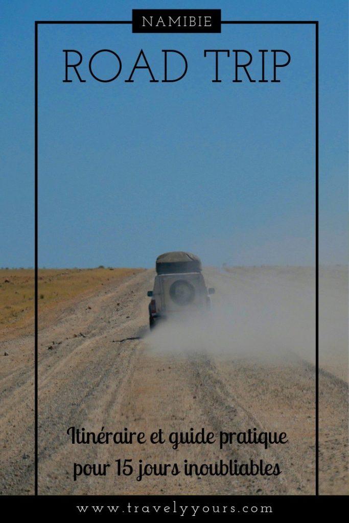Epingle Pinterest Road Trip en Namibie