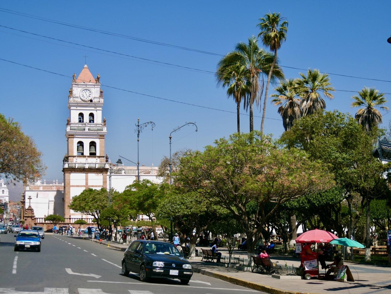 Plaza 25 de Mayo à Sucre