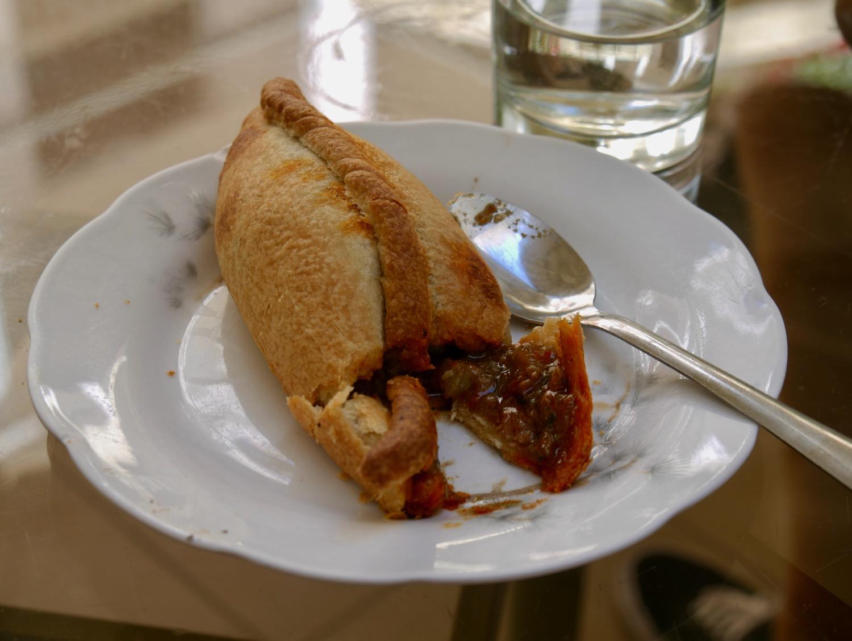 Saltenas, spécialité locale de Sucre