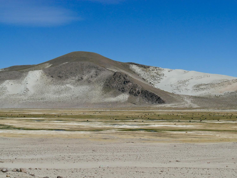 Paysage de bodefal entre Potosi et Uyuni