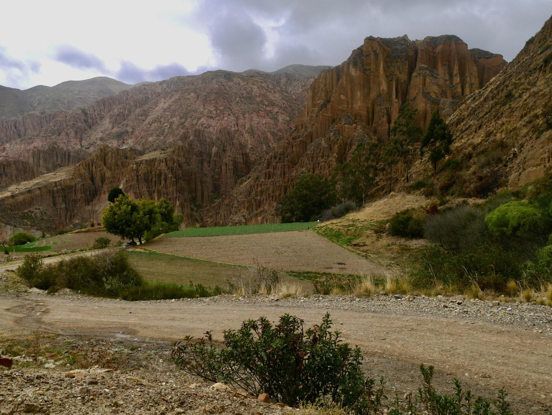 La vie agricole dans la vallée du Canyon de Palca