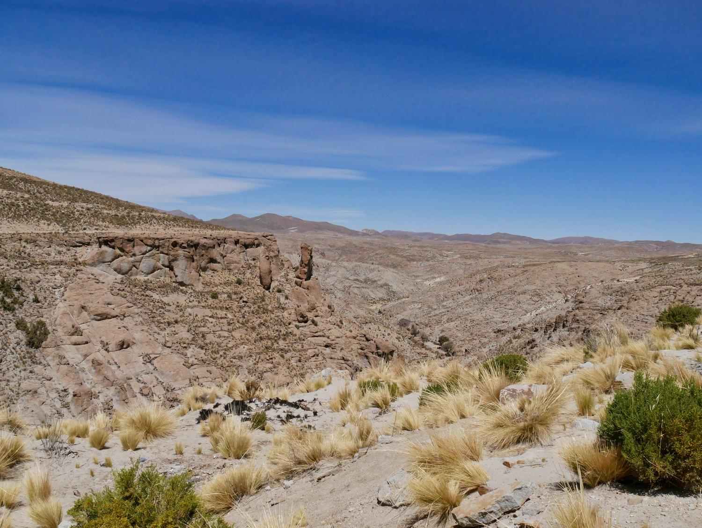 Canyon entre Potosi et Uyuni