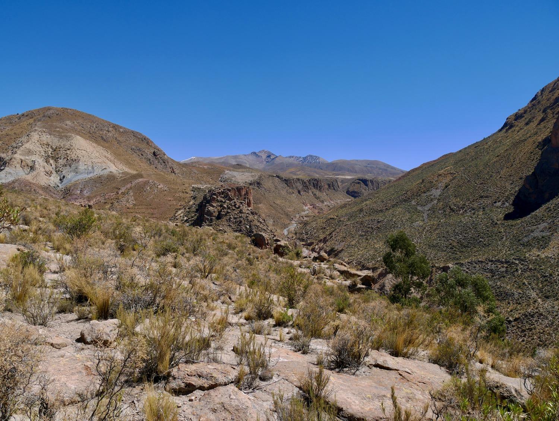 Les montagnes de Cayara