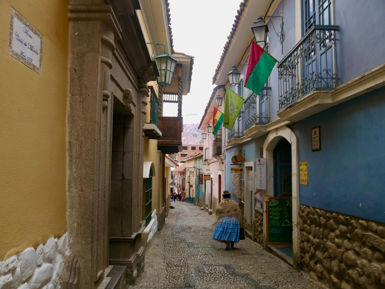 La calle Jaen à La Paz