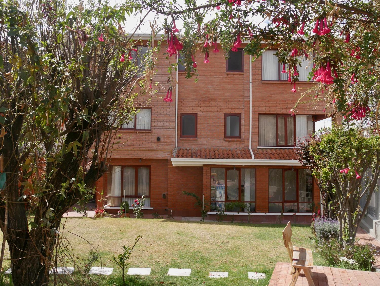 Jardin de l'hôtel qhini à La Paz