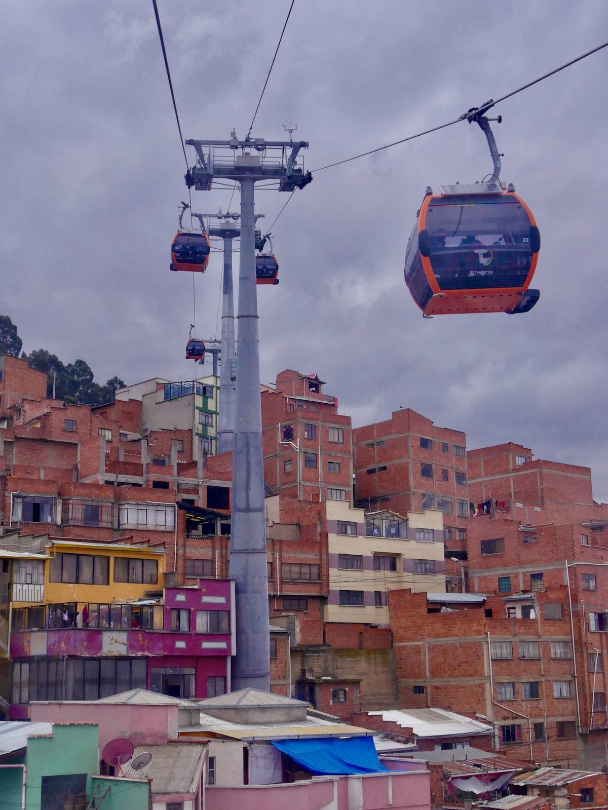 Mi Teleferico - téléphérique de La Paz