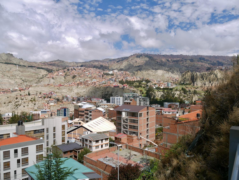 La Paz et ses reliefs