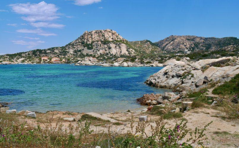 Plage de l'île Maddalena Sardaigne