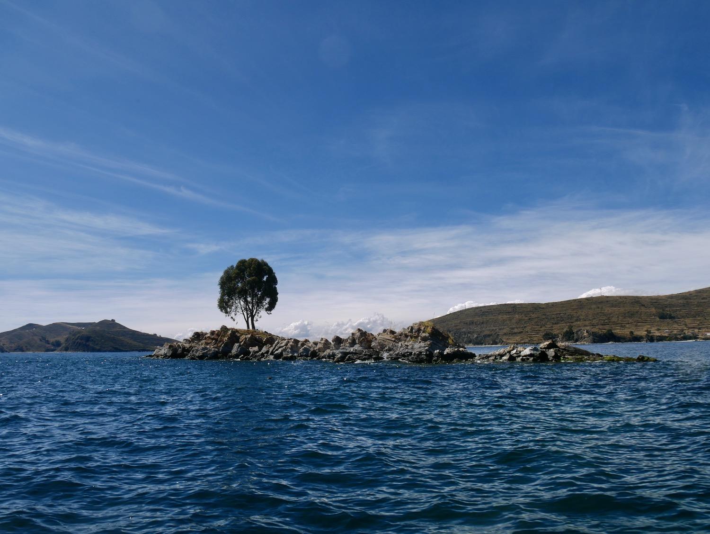 Lac Titicaca depuis le bateau vers la Isla Del Sol