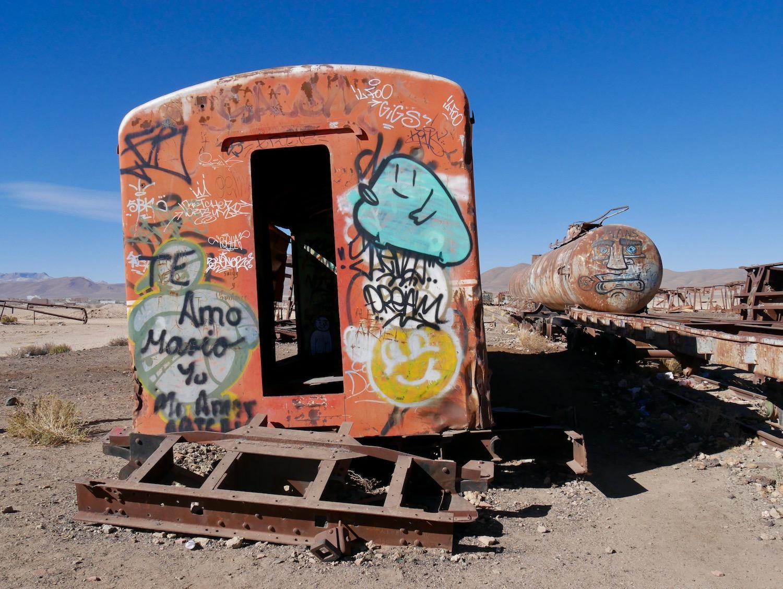 Cimetière de train d'Uyuni