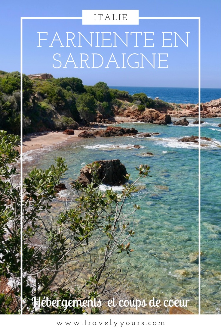 Epingle Pinterest Farniente en Sardaigne