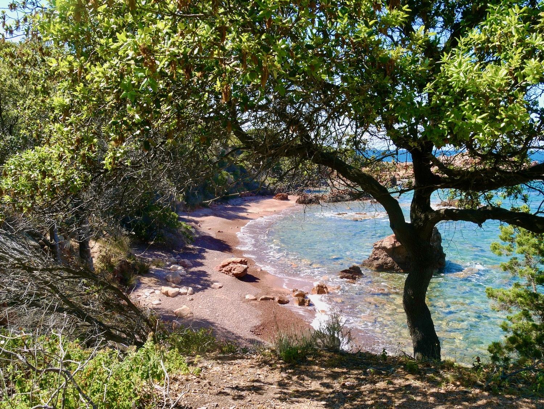 Petit crique sauvage sur la randonnée de Costa Paradiso